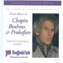 Piano Music of Chopin, Brahms & Prokofiev