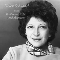 Helen Schnabel Plays Beethoven, Weber, and Malipiero